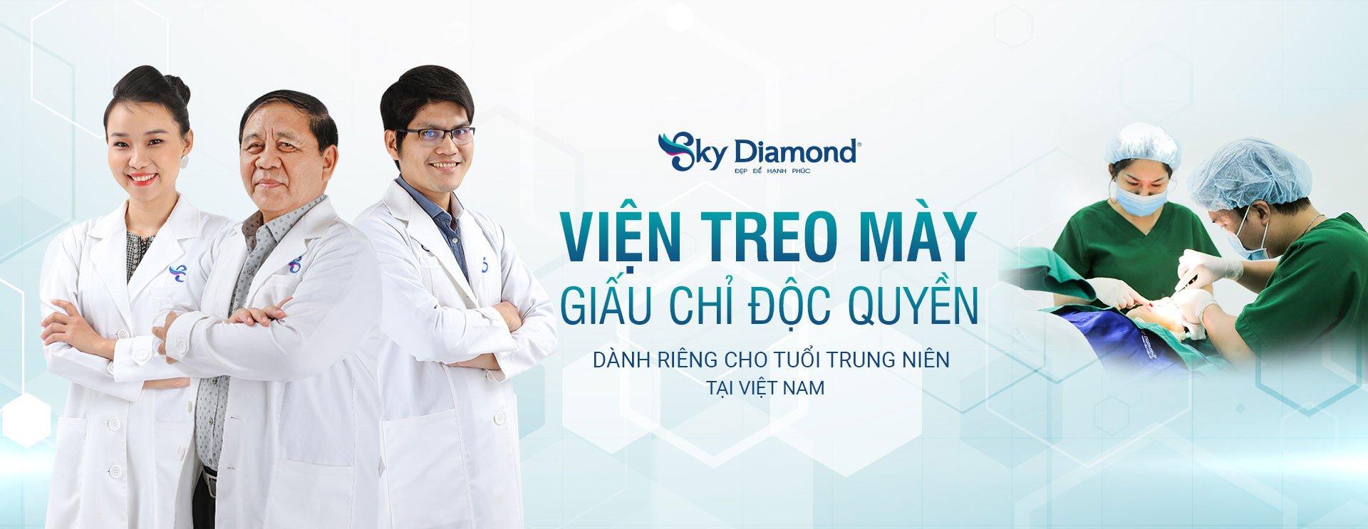 Banner Treo lông mày Sky Diamond