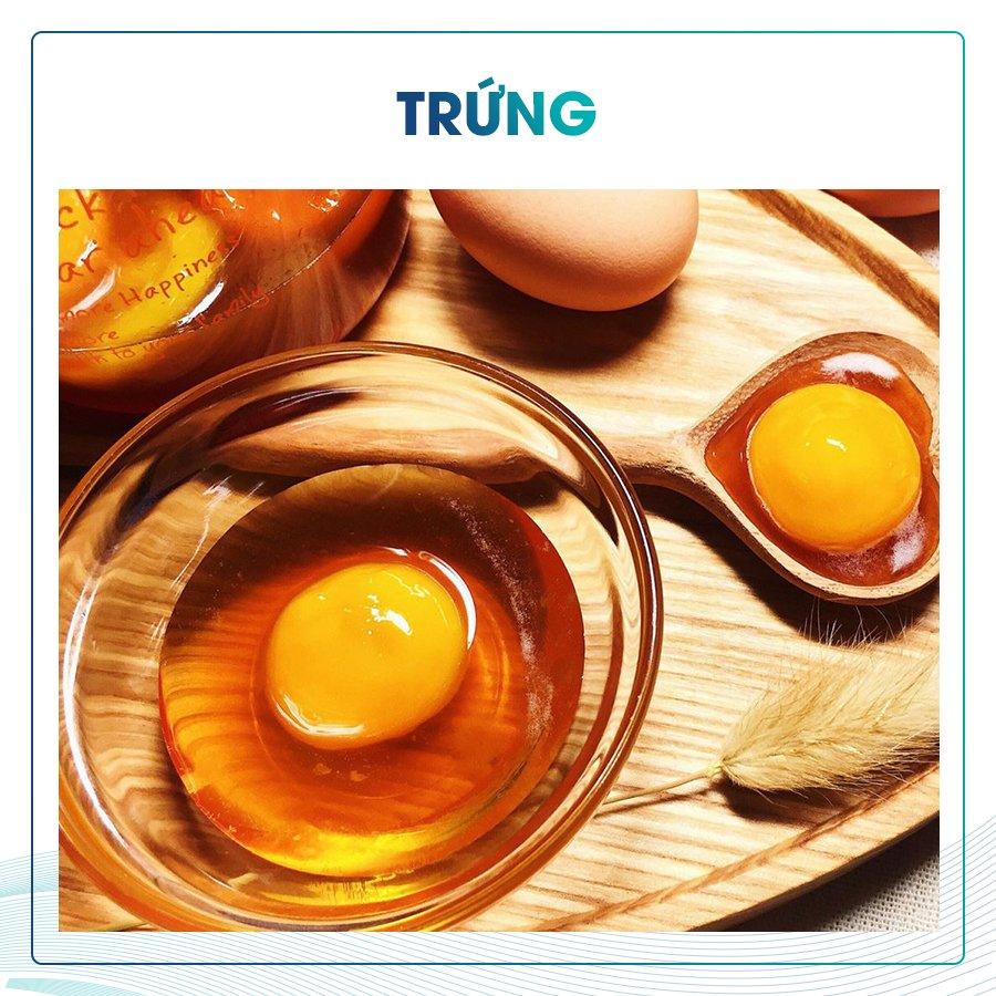 Ăn lòng đỏ trứng giúp đôi mắt sáng khỏe