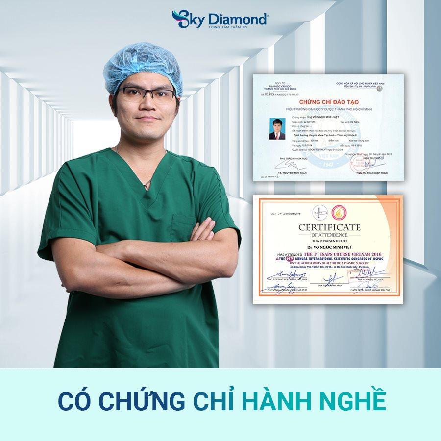 Ths. Bs Nguyễn Ngọc Minh Việt – GĐ Chuyên môn Viện treo mày Sky Diamond